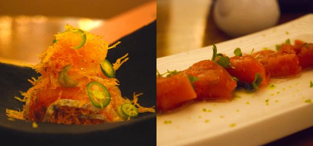 BarMasa at Aria sushi restaurant Las Vegas