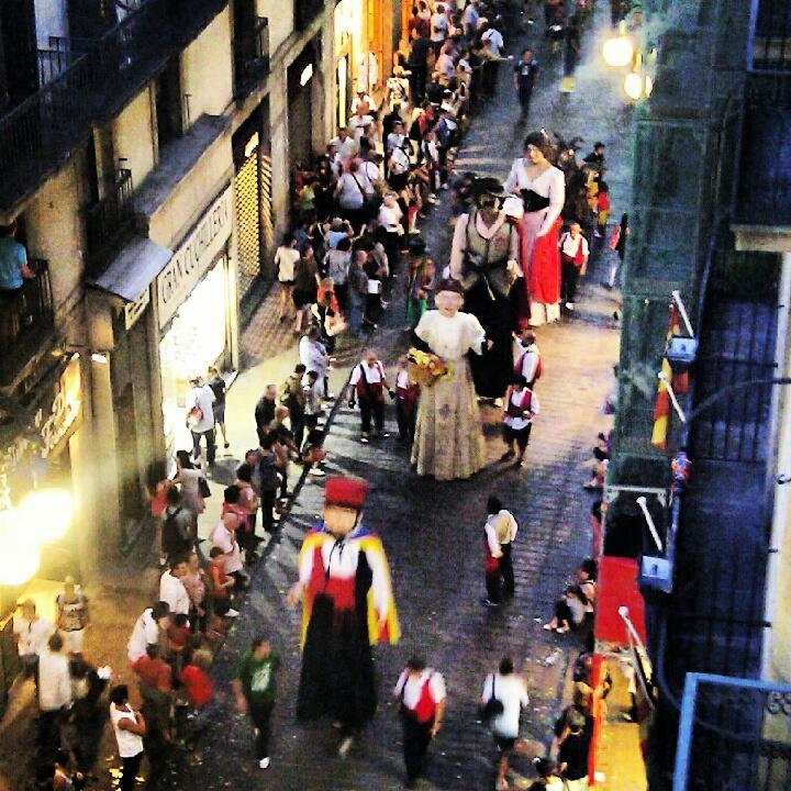 La Merce Giants Parade 2012