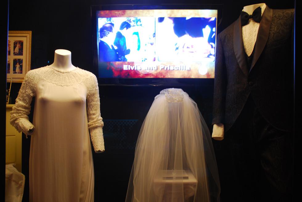 Priscilla Presley's Wedding Dress, Graceland