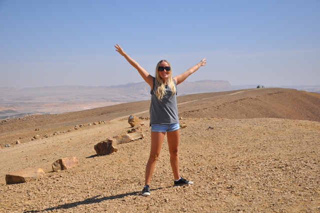 Victoria Brewood Negev Desert