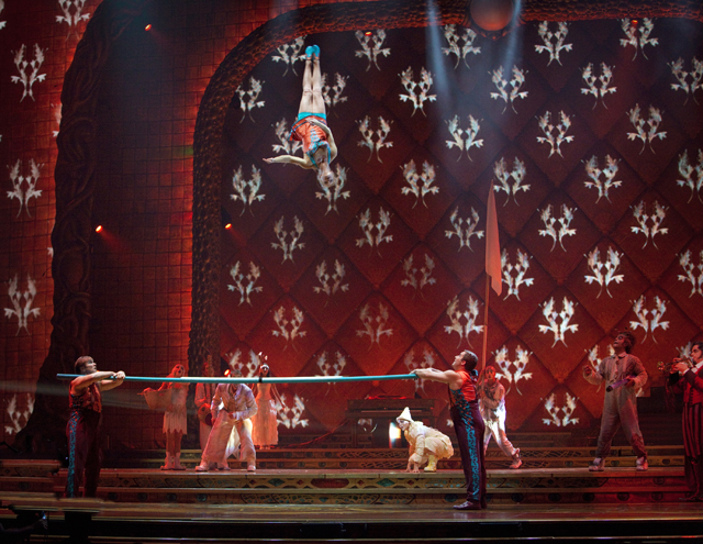 Zarkana Cirque du Soleil Las Vegas Russian Bar