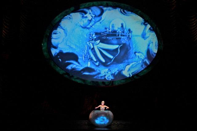 Zarkana Cirque du Soleil Las Vegas Sand Painting