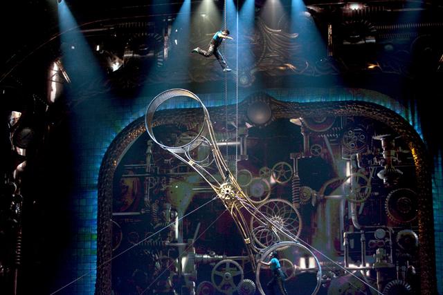 Zarkana Cirque du Soleil Las Vegas Wheel of Death