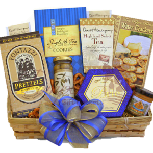 A Simple Gourmet Gift Basket