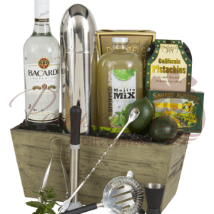 Mojito Time Rum Gift Basket