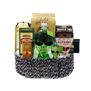 The Great Abduction Vodka Gift Basket, Alien Head Vodka, Outerspace Vodka, Alien Gift Basket, Vodka Gift Basket, Alien Head Gifts
