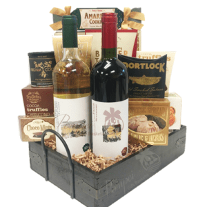 The Italian Job Wine Gift Basket, Italian Wine Gift Basket, Cantina Offida Gift Basket, Cantina Offida Wine, Imported italian Wines, Verdicchio Classico Wine, Piceno Superiore Wine