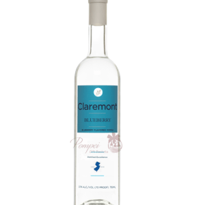 Claremont Blueberry Flavored Potato Vodka, Blueberry Vodka, Gluten Free Flavored Vodka, Claremont Distillery, Claremont Blueberry Vodka