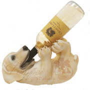 Golden Labrador Retriever Wine Holder with Wine, Golden Lab Wine Holder, Dog Wine Holder, Dog and Wine Gifts,