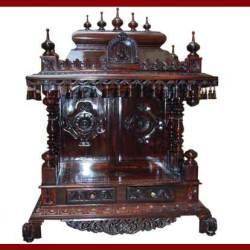 Wooden Puja Mandir