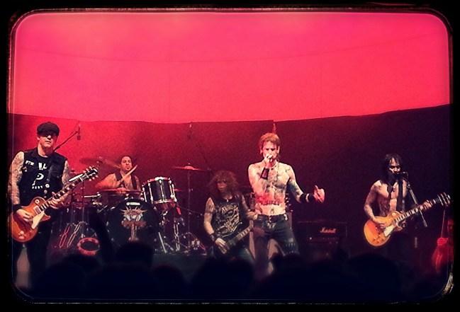 Concierto de Buckcherry en la sala Shoko Live. Madrid, junio 2014