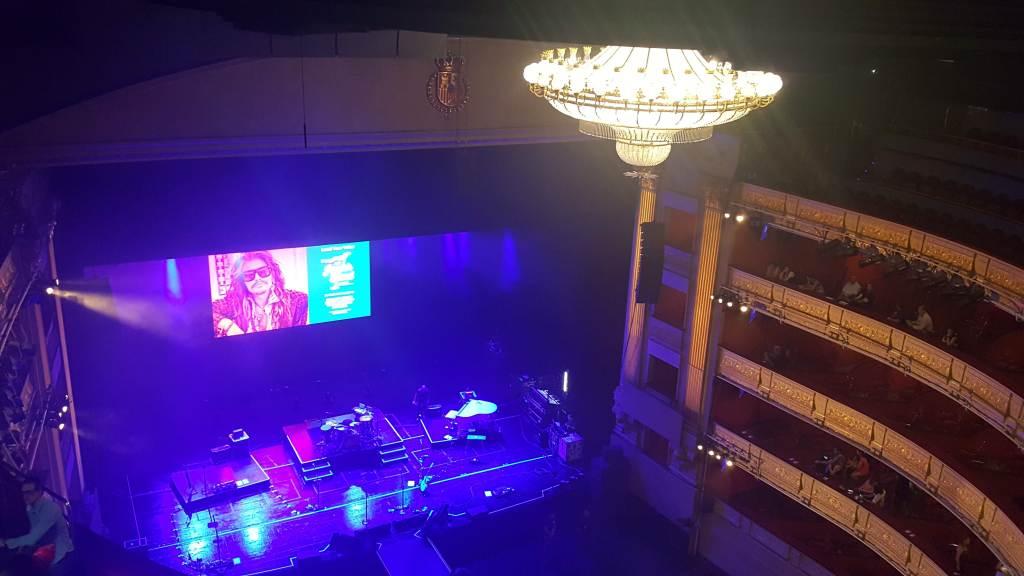 Concierto Steven Tayler - Teatro Real Madrid
