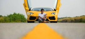 Adrian Vanq Wong lambo yellow lines