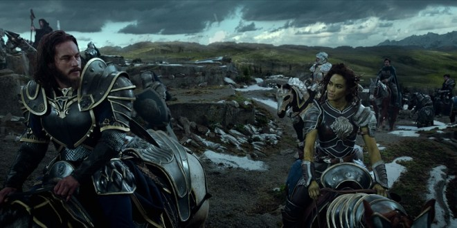 Lothar and Garona from Warcraft: The Beginning   Image courtesy of United International Pictures