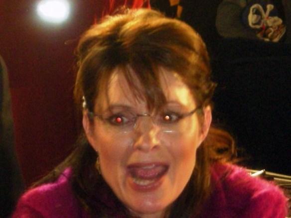 Sarah Palin will swallow your soul!