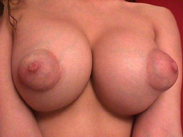 braless puffy nipples