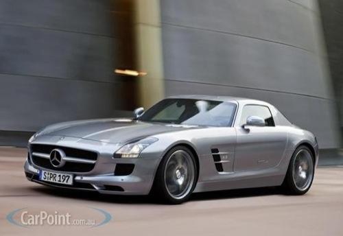 Leaked: 2011 Mercedes-Benz SLS AMG [Frankfurt]