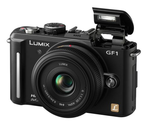 Panasonic Lumix GF1 with Built-In Flash