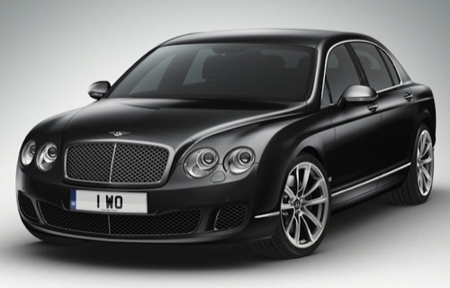 Bentley Continental Flying Spur Arabia for the Middle East