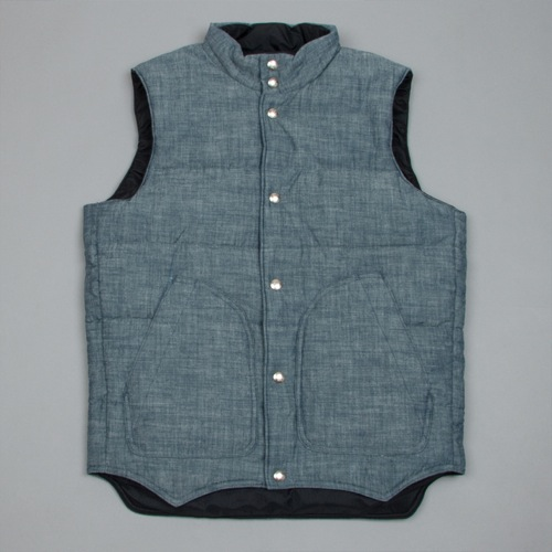 The Want | Monitaly Chambray Vest