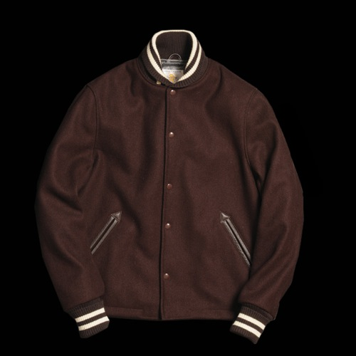 Golden Bear x Unionmade | Open Bottom Varsity Jacket