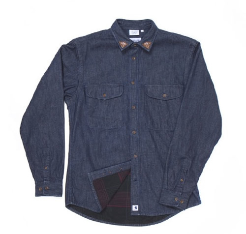 Adam Kimmel for Carhartt Denim Over Shirt for Fall 2011