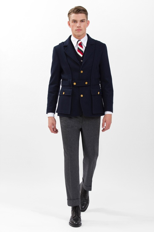 Brooks Brothers Black Fleece Fall/Winter 2011 Preview