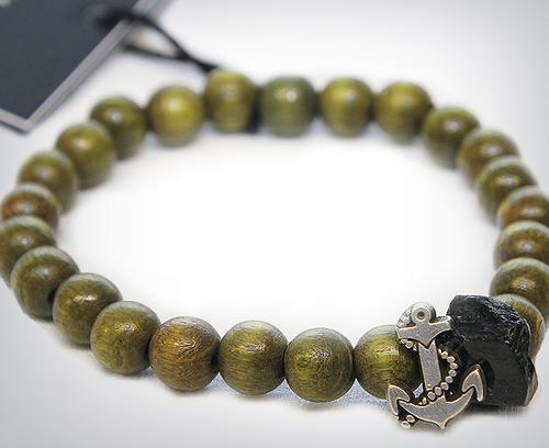 Profound Aesthetic Olive Wood Bracelet