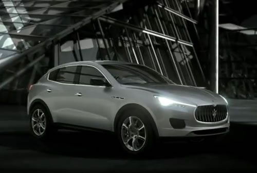 Introducing | Maserati Kubang SUV Concept