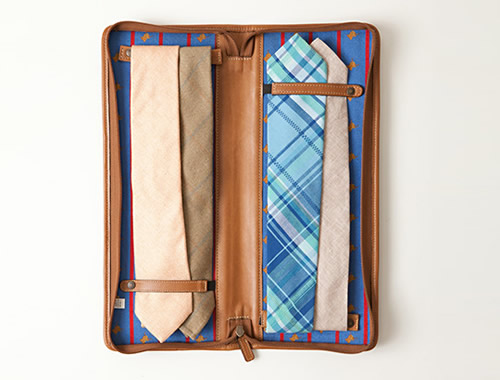 Moore & Giles x Pierrepont Hicks Necktie Travel Case