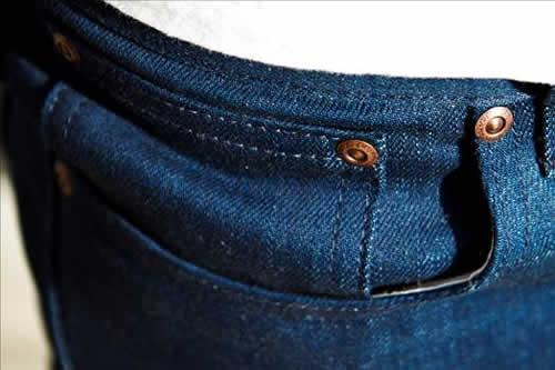Nudie Jeans x Barneys NYC 'Post Recycle Dry' Denim Slim Jims