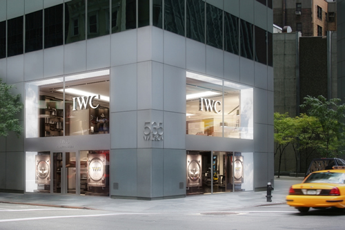 IWC Schaffhausen New York Flagship Boutique on Madison Ave