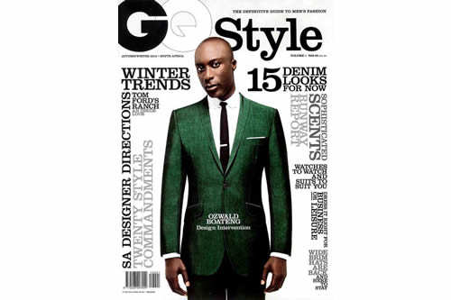 Ozwald Boateng Covers GQ Style South Africa