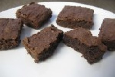 Deep Dark Chocolate Brownies