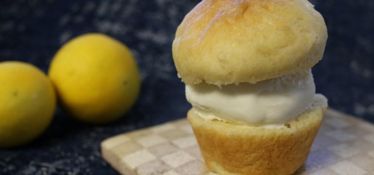 Brioche Ice Cream Sandwiches   Pork Cracklins