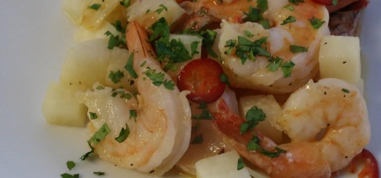 Foolproof Garlic Shrimp | Pork Cracklins