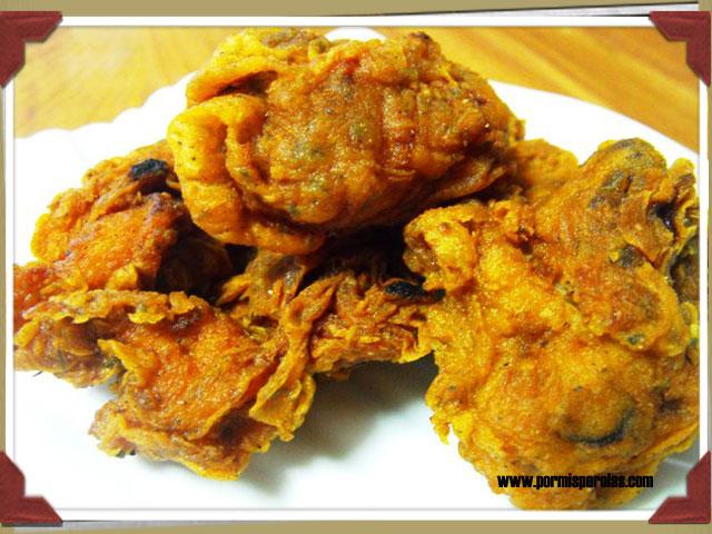 Pollo especiado crujiente estilo KFC