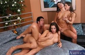 fotos Rachel Starr mas dos jovencitas follando en estas fotos xxx