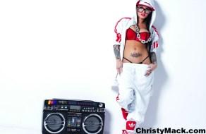 fotos Christy Mack se muestra como la rapera mas zorra