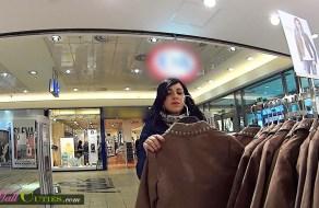 fotos Jovencita hardcore pillada desnuda en el shopping
