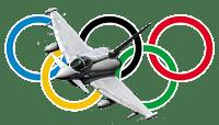 Londres: les Typhoon gardiens des jeux