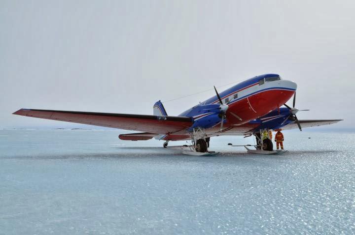 Antarctique, les mécanos de l'impossible.