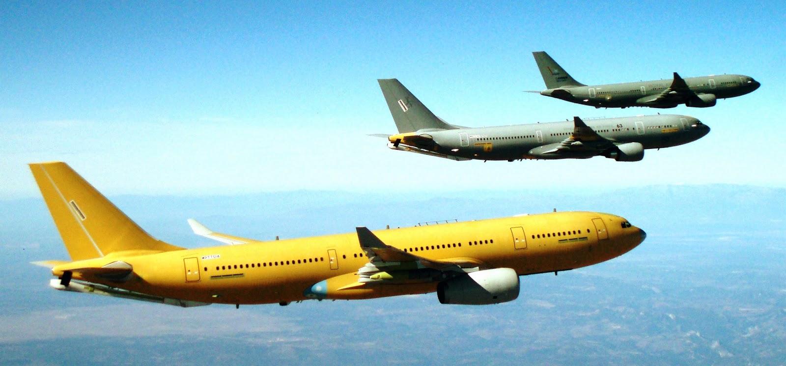 A330 MRTT: Et de Cinq! Airbus Military officialise son cinquième contrat de vente de l'avion à Singapour