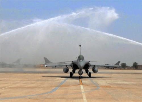 Garuda V : Rafale et C-135 sont arrivés en Inde