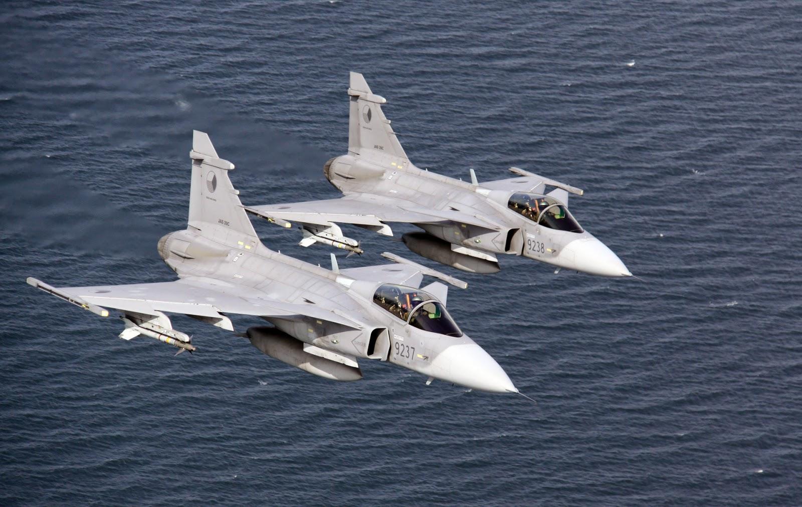 Suède :La flygvapnet recevra 60 Gripen E neufs supplémentaires.