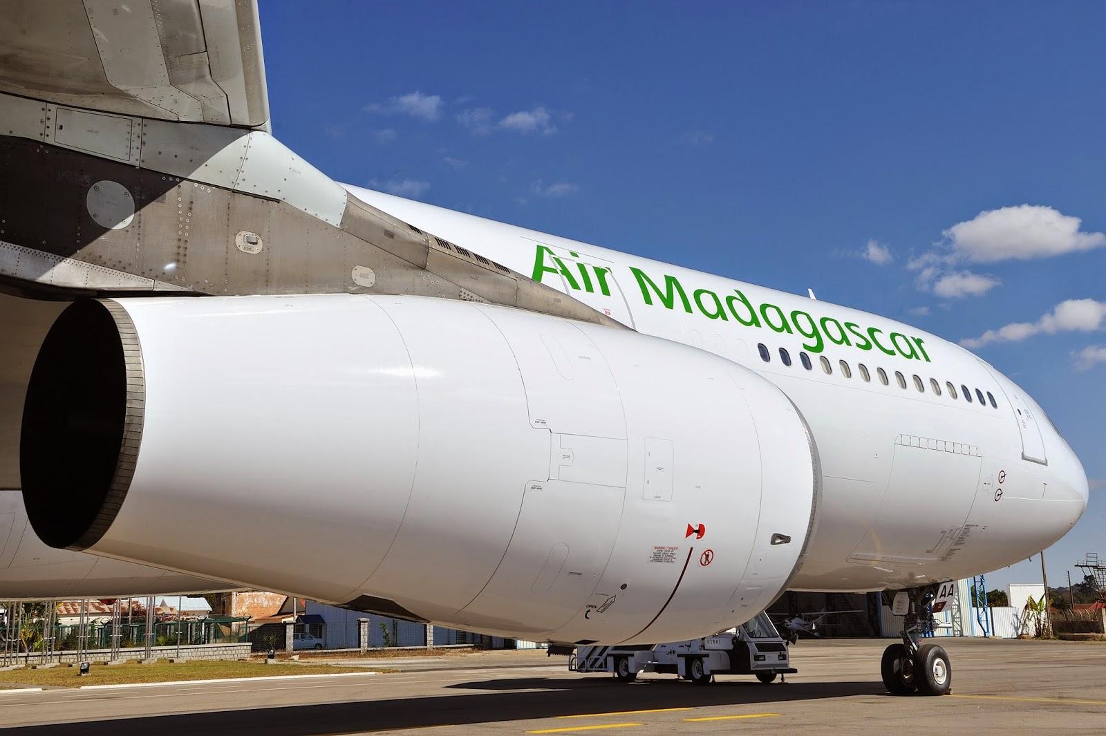 Suspension des vols Air Madagascar entre CDG et Madagascar
