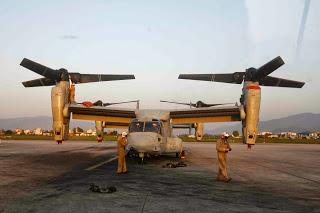 L'US Marine Corps au secours du Népal
