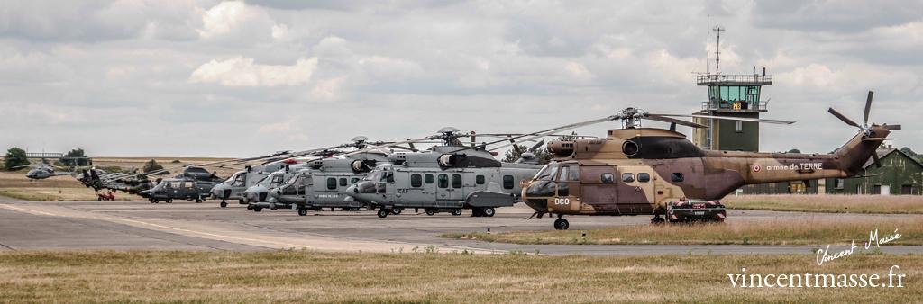 parking hélicoptères