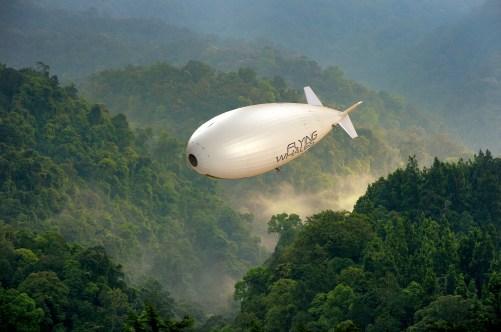 Vue d'artiste LCA60T - Crédit : FLYING WHALES