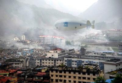 Projet LCA60T en version humanitaire, Crédit : FLYING WHALES